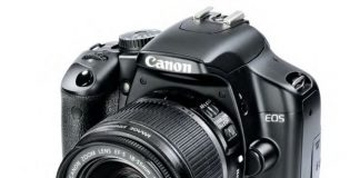 The Canon EOS 450D
