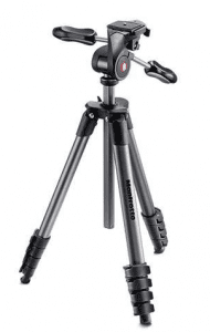 Photo of the Manfrotto MKCOMPACTADV-BK Compact Advanced Tripod