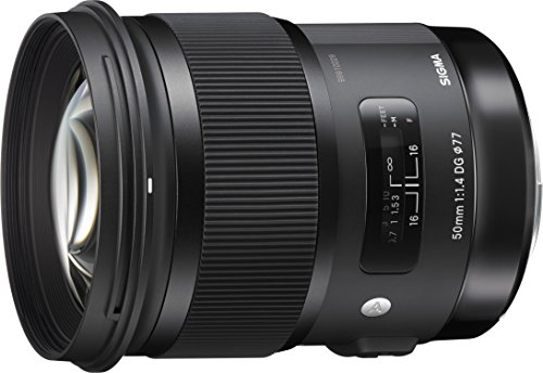 Photo of the Sigma 50mm F1.4 ART DG HSM Lens