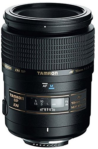 Photo of the Tamron AF 90mm f/2.8 Di SP AF/MF 1:1 Macro Lens