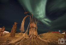Paul Scannell Photographing the Northern Lights from Iceland